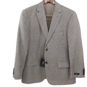 Hugo Boss Men Pasolini Two Button Suit Jacket Beig